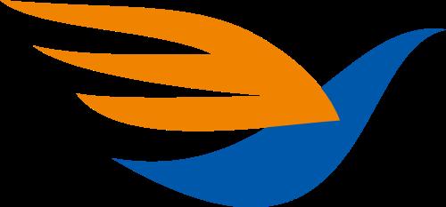 小鸟快递运输互联网相关矢量logo图标矢量logo