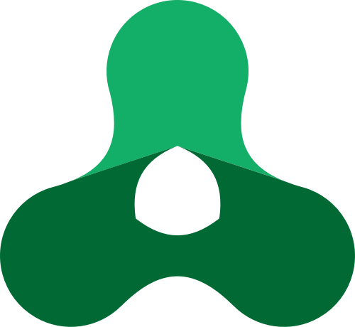 绿色科技抽象矢量logo图标
