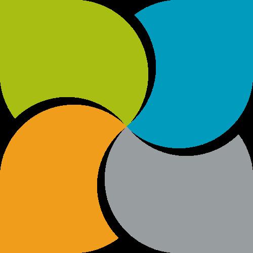 彩色抽象互联网相关矢量logo图标