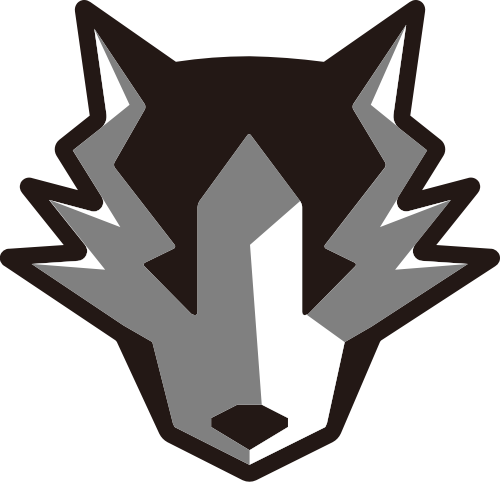 狼头像矢量logo图标