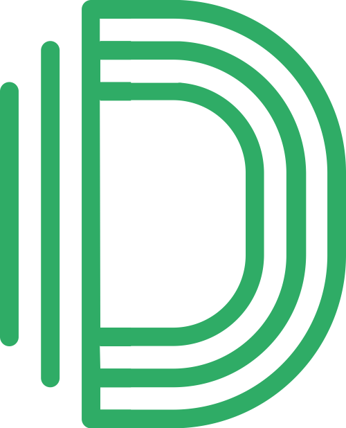 创意字母D矢量logo图标矢量logo