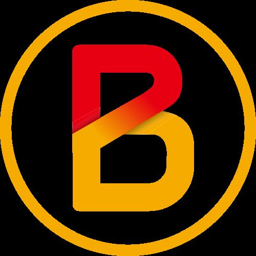 圆形字母B矢量logo图标矢量logo