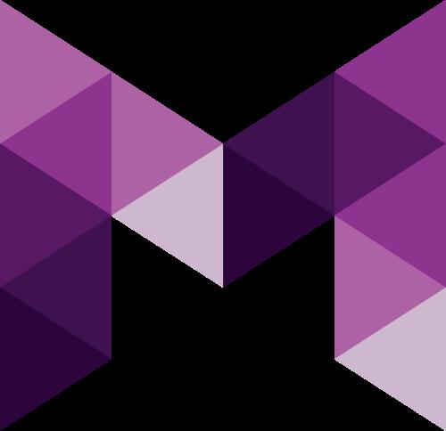 字母M矢量logo图标矢量logo