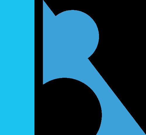 创意字母R矢量logo图标矢量logo