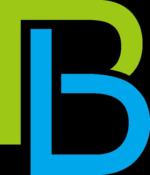 字母B矢量logo图标矢量logo