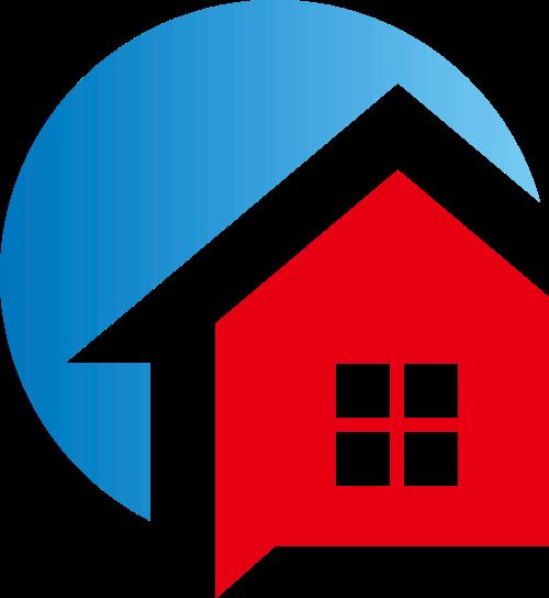 红房子矢量logo图标矢量logo