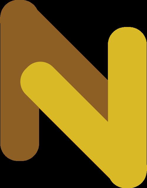 字母N矢量logo图标矢量logo