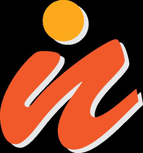 字母N矢量logo图标