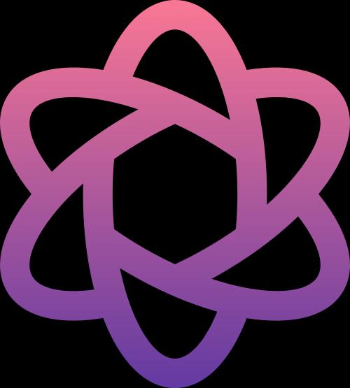 紫色花朵矢量logo图标矢量logo