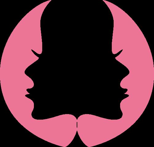 人物侧脸矢量logo图标矢量logo