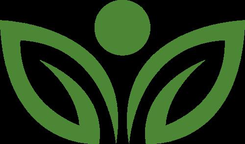 绿色叶子矢量logo图标矢量logo