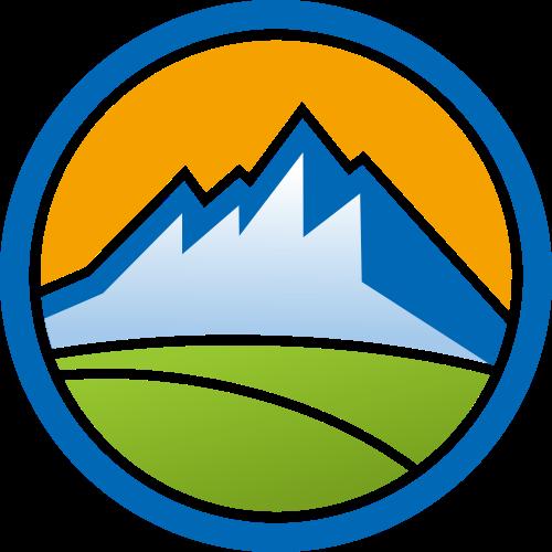 山峰矢量logo图标