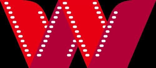 红色字母W电影矢量logo图标