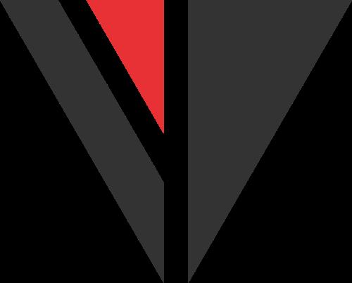 倒三角矢量logo图标