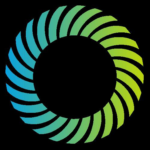 蓝色绿色圆环综合矢量logo图标矢量logo