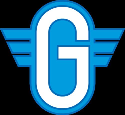 字母G蓝色矢量logo图标矢量logo