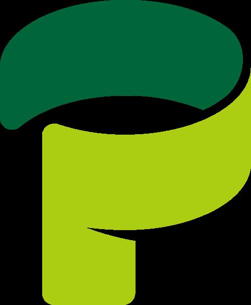 字母P矢量logo图标矢量logo