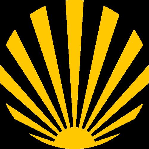 黄色太阳矢量logo图标矢量logo