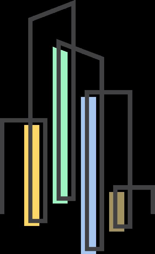 楼房建筑矢量logo图标
