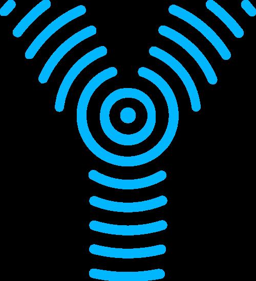 蓝色字母Y矢量logo图标