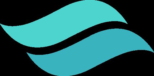 绿色波浪矢量logo图标矢量logo