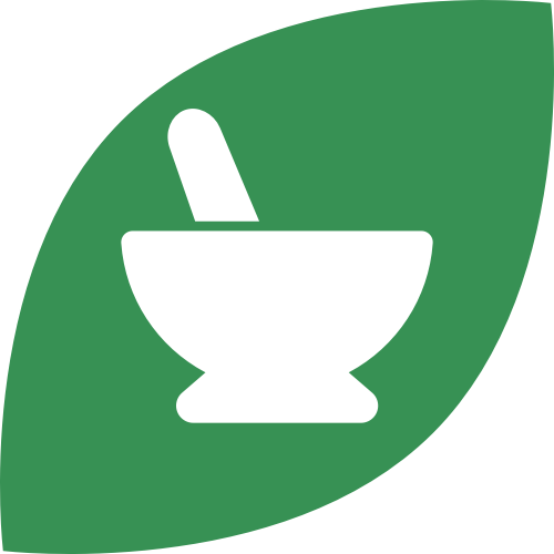 绿色叶子药品草药矢量logo图标矢量logo