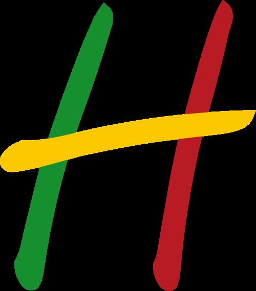 彩色字母H矢量logo图标矢量logo