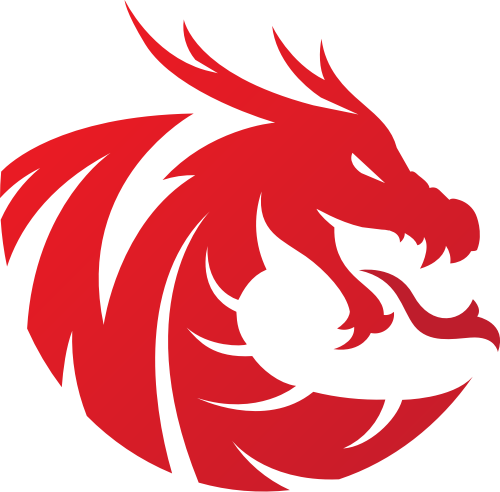 红色龙矢量logo图标矢量logo