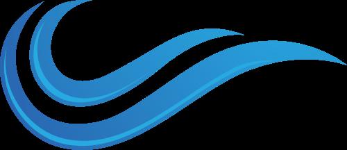 蓝色祥云矢量logo图标矢量logo