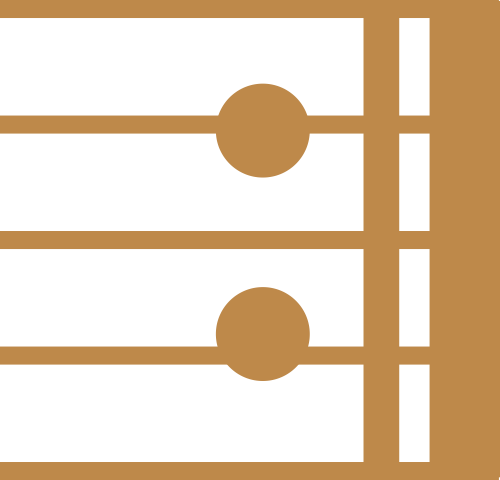 浅棕音乐矢量logo图标