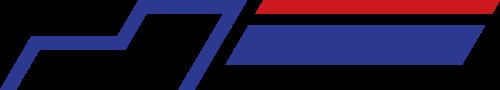 红蓝货车矢量logo图标