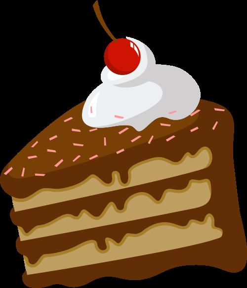 棕色蛋糕矢量logo图标