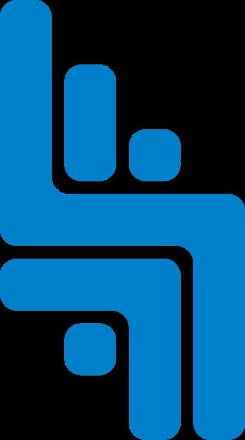 蓝色科技矢量logo图标