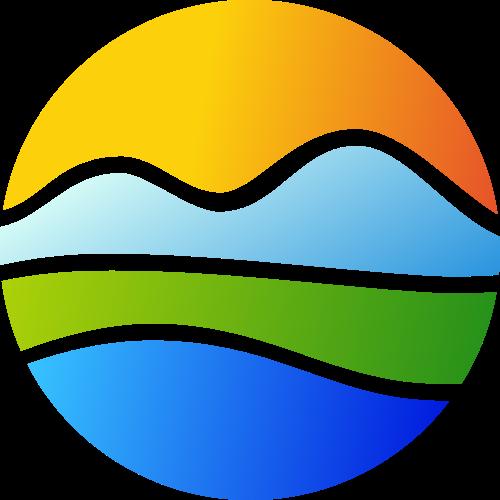 彩色球形矢量logo图标