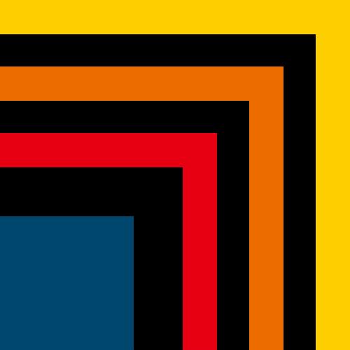 彩色正方形矢量logo图标