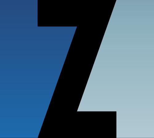 蓝色字母Z矢量logo图标矢量logo