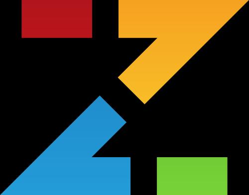 彩色字母Z矢量logo图标矢量logo