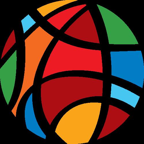 彩色球形矢量logo元素