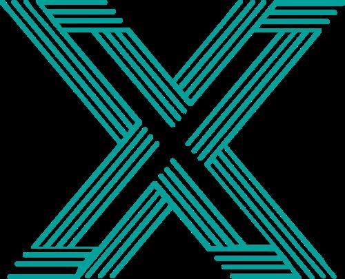 字母X矢量logo图片