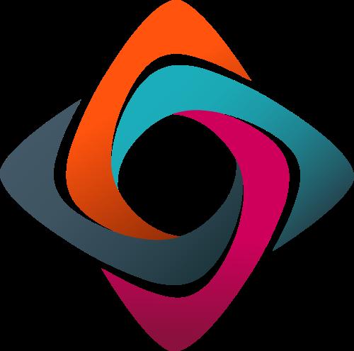 彩色体育矢量logo图标