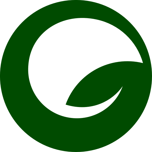 绿色叶子圆形矢量logo矢量logo