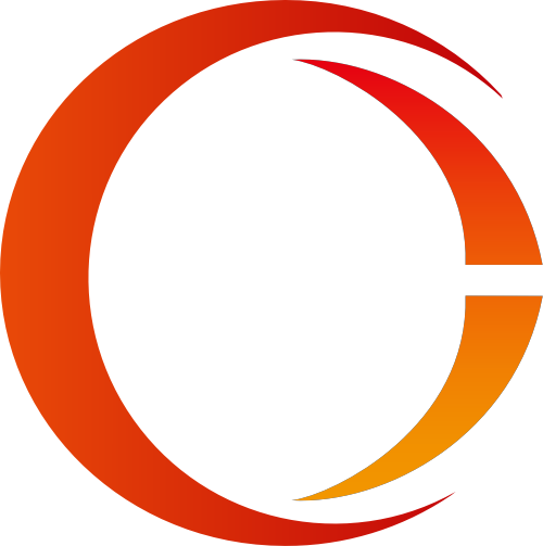 红色圆圈字母O矢量logo矢量logo