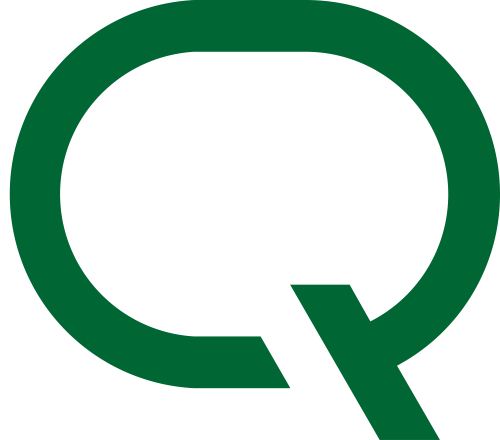 绿色字母Q矢量logo