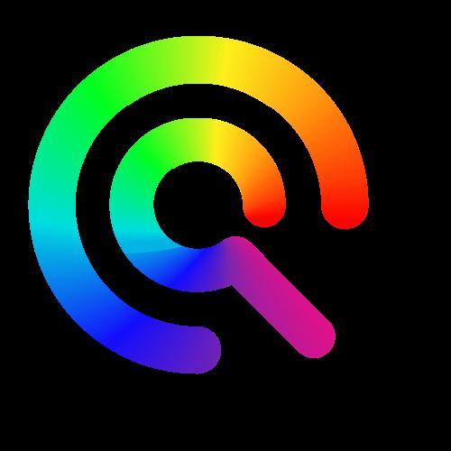 彩色字母Q矢量logo图标