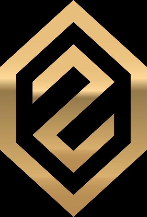 金色字母Z矢量logo图标