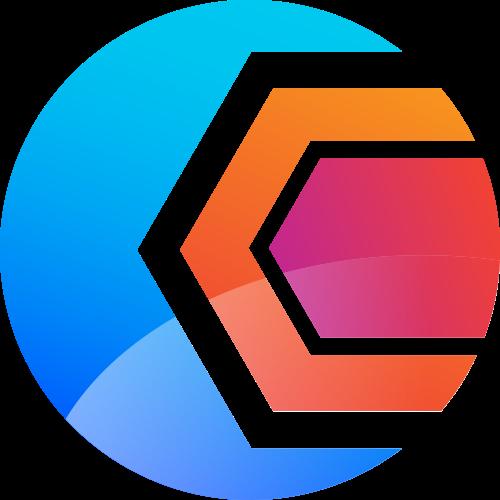蓝色橙色球体矢量logo