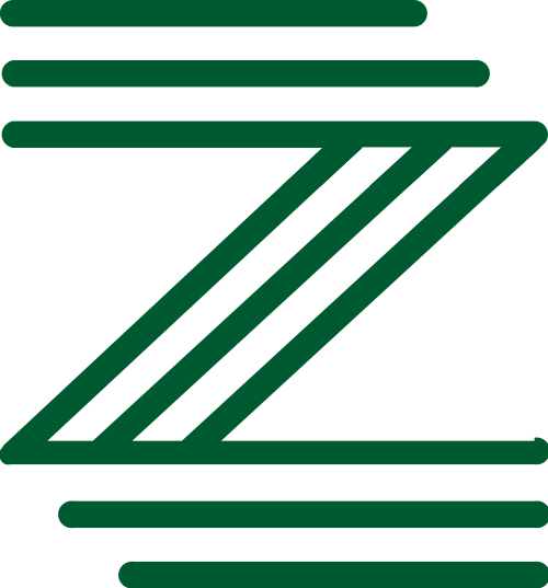 绿色字母Z矢量logo图标