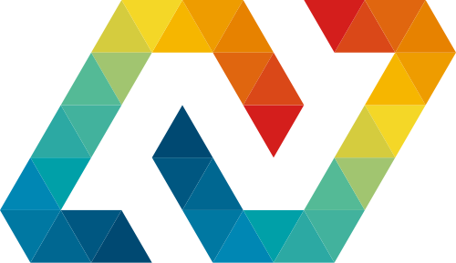 彩色科技矢量logo图标