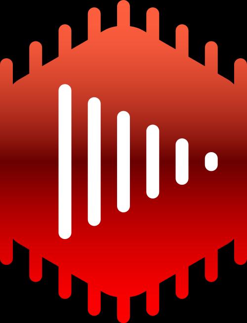 红色视频音乐矢量logo矢量logo