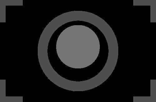 灰色抓取框镜头矢量logo